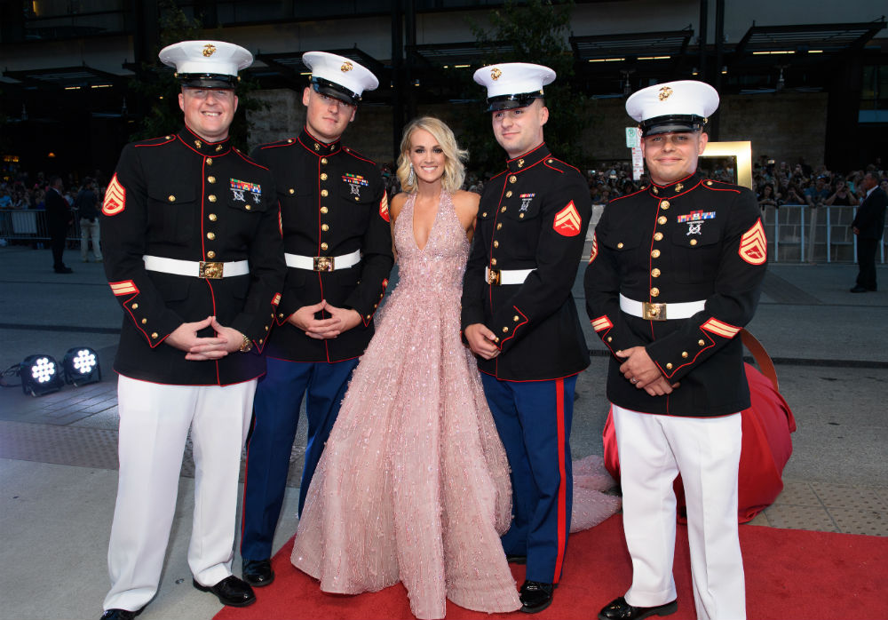 Carrie Underwood Taking A Stand For Veterans Us Veterans Magazine