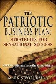 Book Cover of the Patriotic Business Plan