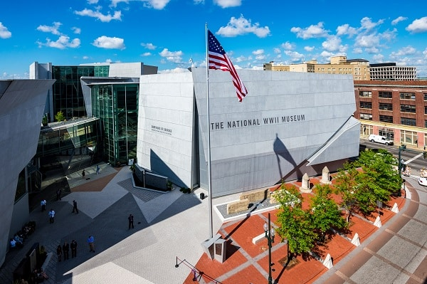 A photo of the National WWII Museum's Building