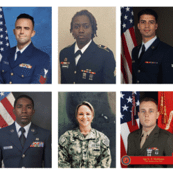 USO honorees pictured together in a collage