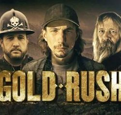 promo poster of Gold Rush series on Discovery Channel