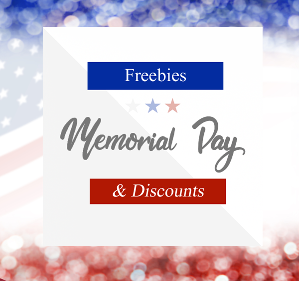 Memorial Day freebies and discounts offer