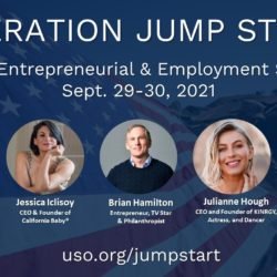 Operation Jump-start flyer featuring the guest speaker images
